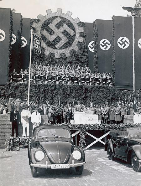 Wolfsburg - Lower Saxony「Foundation stone for the Volkswagen factory in Wolfsburg」:写真・画像(7)[壁紙.com]