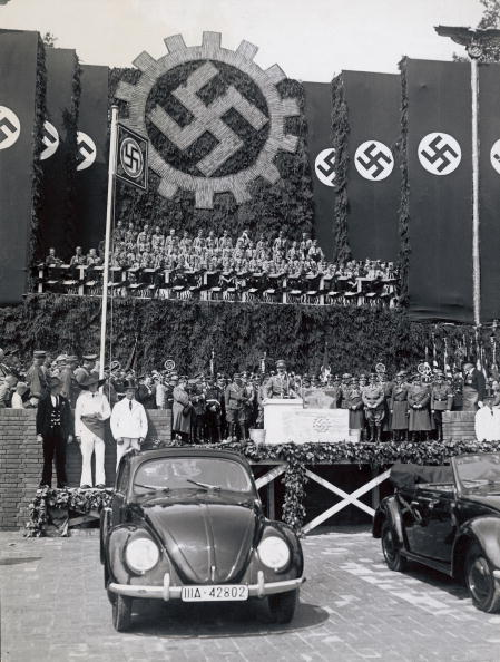 Wolfsburg - Lower Saxony「Foundation stone for the Volkswagen factory in Wol」:写真・画像(18)[壁紙.com]