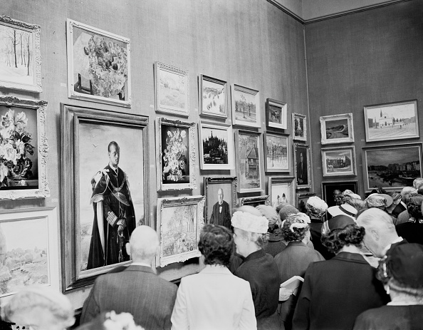 Art Museum「Annigoni Portrait At Royal Academy」:写真・画像(16)[壁紙.com]
