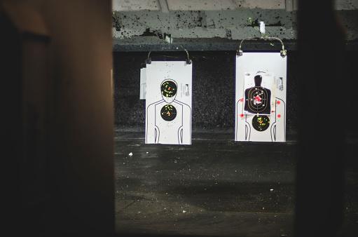 Sports Target「Targets at Gun Shooting Range」:スマホ壁紙(0)