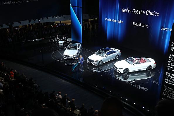 ダイムラーAG「Frankfurt Auto Show 2017」:写真・画像(0)[壁紙.com]