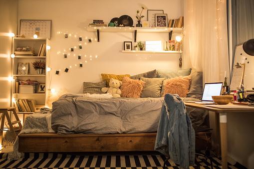 Decoration「Cute teen bedroom」:スマホ壁紙(15)