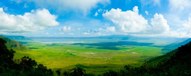Volcano「Ngorongoro クレーター、タンザニア、アフリカ(XXXL」:スマホ壁紙(19)