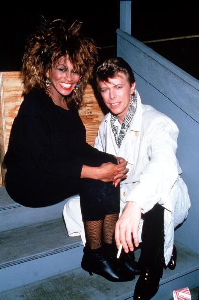 デヴィッド・ボウイ「Tina Turner And David Bowie Backstage」:写真・画像(13)[壁紙.com]