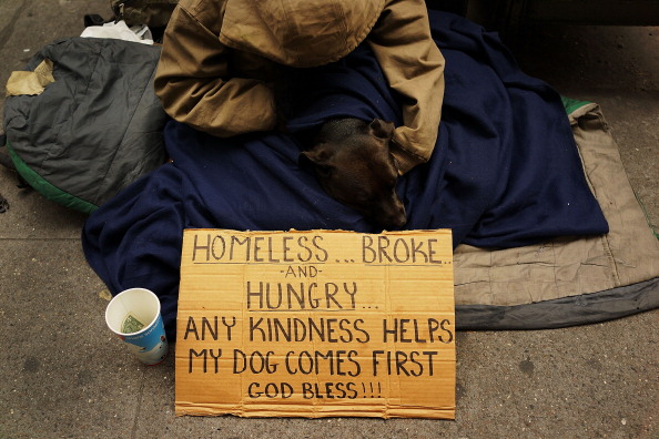 Homemade「Panhandlers' Placards Show Signs Of Continued Economic Hardship」:写真・画像(12)[壁紙.com]