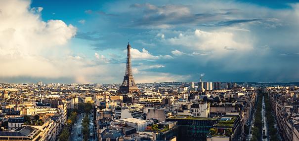France「Paris Cityscape」:スマホ壁紙(7)