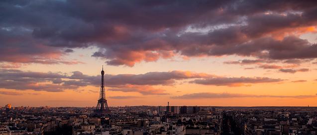Arc de Triomphe - Paris「Paris cityscape」:スマホ壁紙(11)