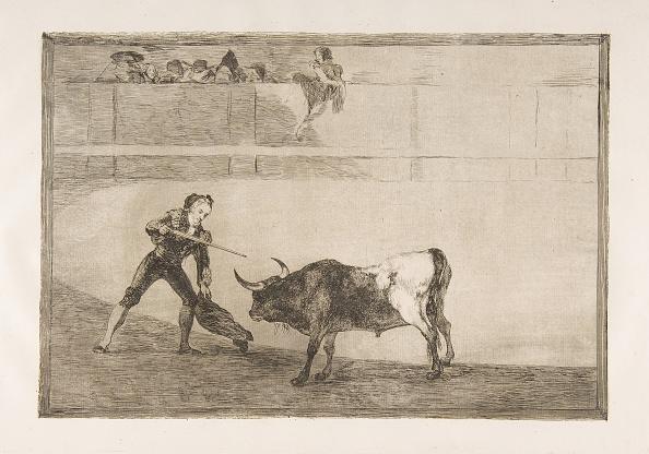 Blade「Plate 30 Of The Tauromaquia: Pedro Romero Killing The Halted Bull」:写真・画像(15)[壁紙.com]
