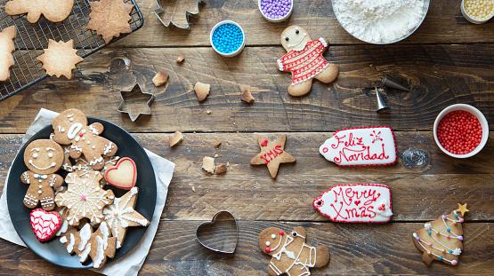 Gingerbread Cookie「Home-baked Gingerbread Cookies」:スマホ壁紙(8)