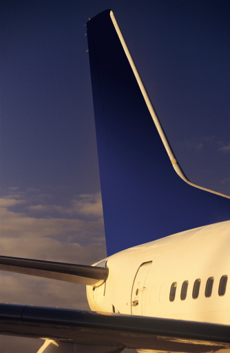 Passenger「Passenger jet tailplane and rear fuselage」:スマホ壁紙(6)