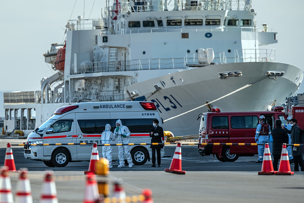 Ship「Japan Screens Cruise Ship Diamond Princess For The Wuhan Coronavirus」:写真・画像(3)[壁紙.com]