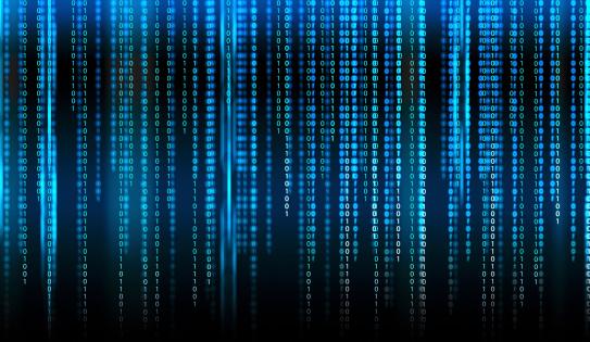 Information Medium「binary code」:スマホ壁紙(4)