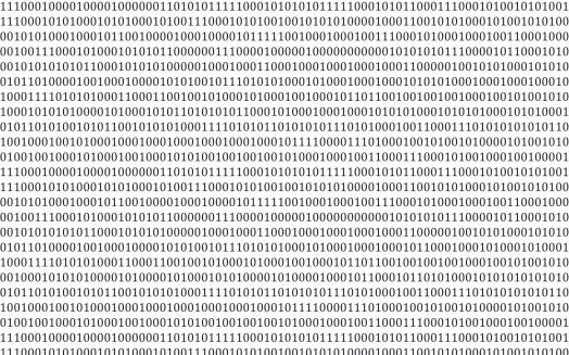 Zero「Binary code on a white background」:スマホ壁紙(19)