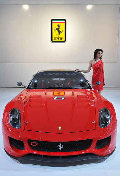 Ferrari「Detroit Hosts Flagship North American International Auto Show」:写真・画像(5)[壁紙.com]
