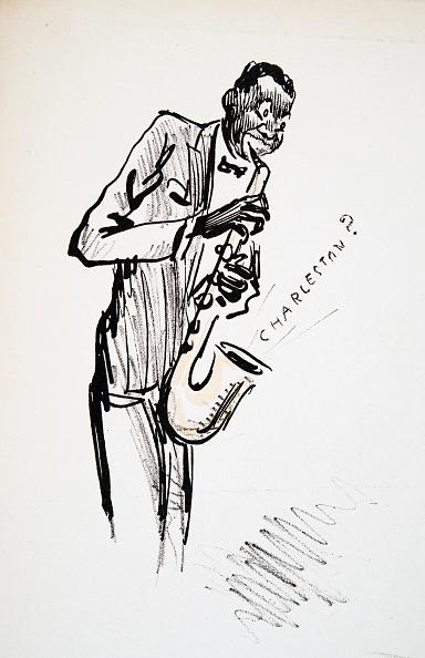 楽器「Saxophonist」:写真・画像(6)[壁紙.com]