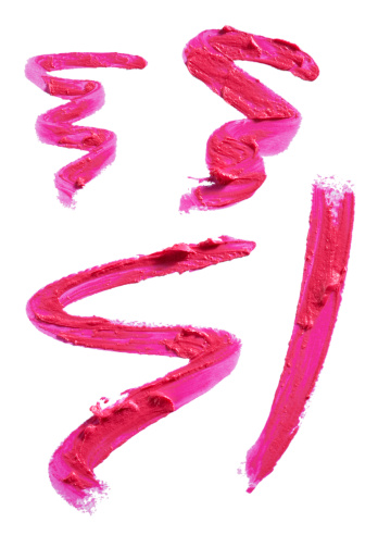 Squiggle「Squiggles and smears of pink lipstick.」:スマホ壁紙(18)