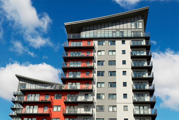 Apartment「Development of riverside apartments at Woolwich, East London, UK」:写真・画像(11)[壁紙.com]