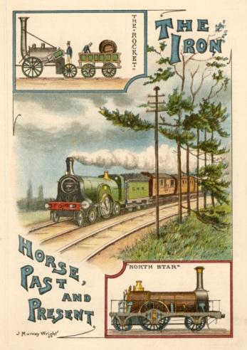 1900「Development of the railway locomotive」:スマホ壁紙(5)