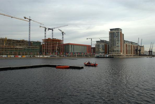 Overcast「Development at Royal Victoria Docks, East London, UK」:写真・画像(13)[壁紙.com]