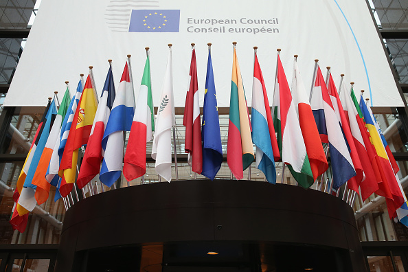 European Union「European Leaders Gather In Brussels For EU Crunch Summit」:写真・画像(13)[壁紙.com]