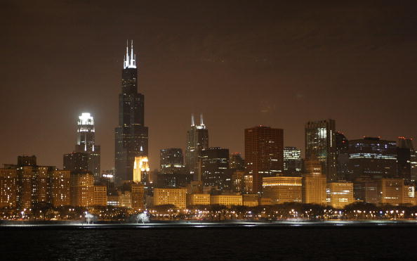 Downtown District「Sears Tower And John Hancock Go Dark In Observance Of Earth Hour」:写真・画像(13)[壁紙.com]
