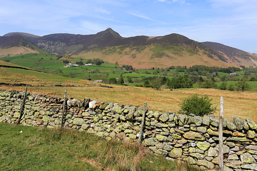 自然の景観「Summer, Causey Pike fell, The Newlands valley, Lake District National Park」:スマホ壁紙(17)