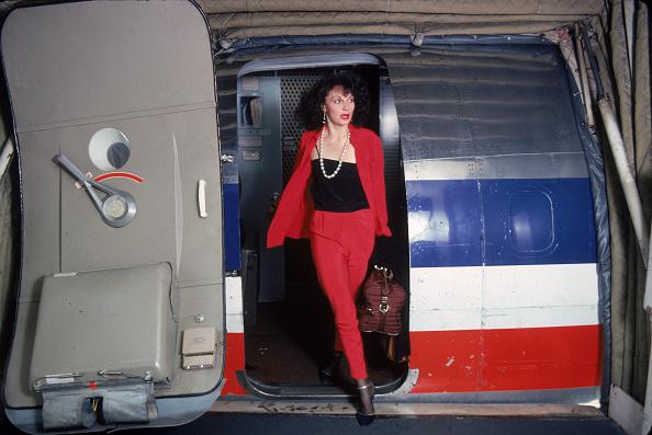Red Suit「Diane von Furstenberg Disembarks」:写真・画像(13)[壁紙.com]