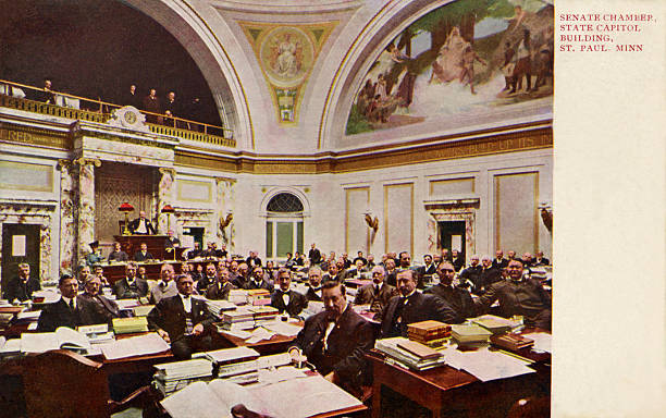 Senate chamber, St. Paul, Minnesota:ニュース(壁紙.com)