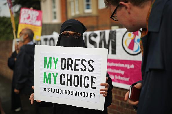 Burka「Protest Following Boris Johnson's Burka Comments」:写真・画像(15)[壁紙.com]
