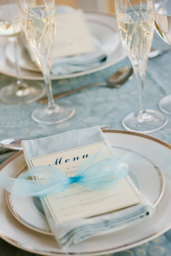 結婚「Wedding table placesetting」:スマホ壁紙(8)