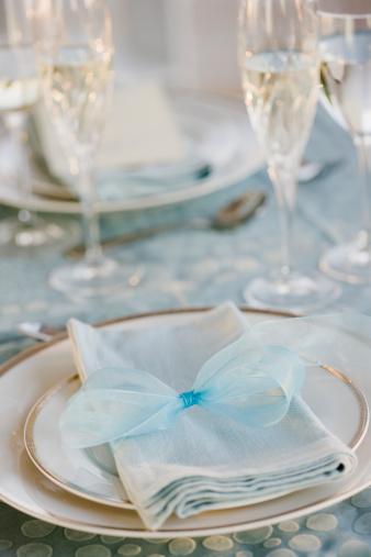 結婚「Wedding table placesetting」:スマホ壁紙(13)