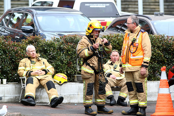 Auckland「Clean Up Begins As SkyCity Convention Centre Fire Is Brought Under Control」:写真・画像(16)[壁紙.com]