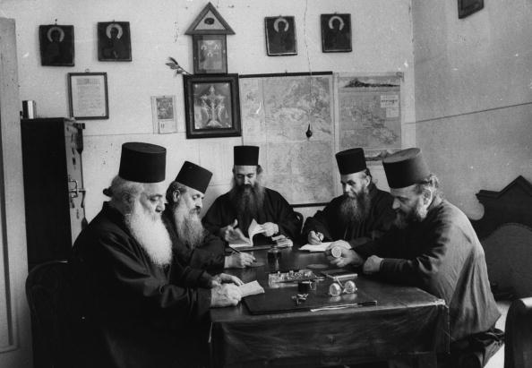 Mt Athos Monastic Republic「Greek Monks」:写真・画像(0)[壁紙.com]