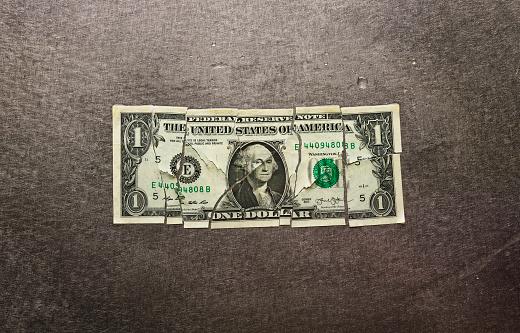 Bonding「Broken dollar bill」:スマホ壁紙(7)