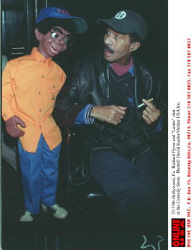 "David Keeler「7/17/96 Richard Pryor and ""Lester"" chat at the Comdy store.」:写真・画像(14)[壁紙.com]"