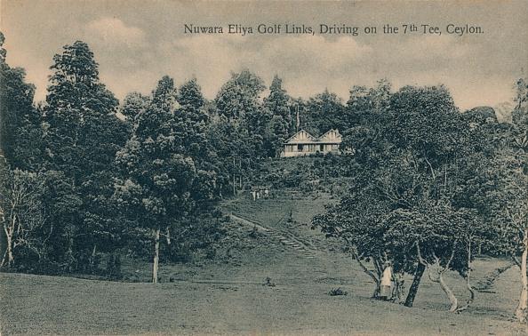 Sri Lanka「Nuwara Eliya Golf Links, Driving on the 7th Tee, Ceylon', c1900」:写真・画像(19)[壁紙.com]