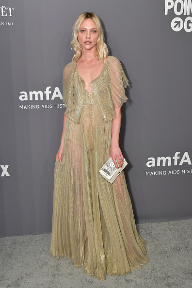 Evening Gown「amfAR New York Gala 2019 - Arrivals」:写真・画像(6)[壁紙.com]