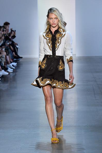 Mini Dress「Zimmermann - Runway - September 2018 - New York Fashion Week: The Shows」:写真・画像(14)[壁紙.com]