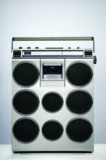 1990-1999「Modified Vintage Boombox Personal Stereo」:スマホ壁紙(9)