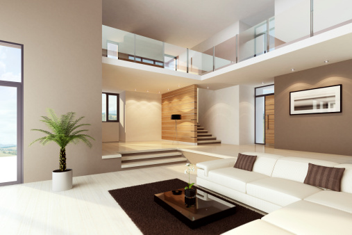 Tranquil Scene「Luxury House Interior」:スマホ壁紙(3)
