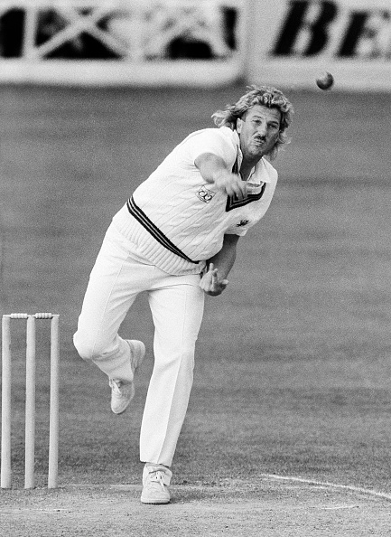 Somerset - England「Ian Botham playing for Somerset 1985」:写真・画像(14)[壁紙.com]