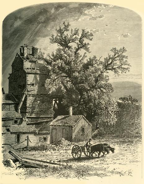 Ox Cart「Old Furnace」:写真・画像(18)[壁紙.com]