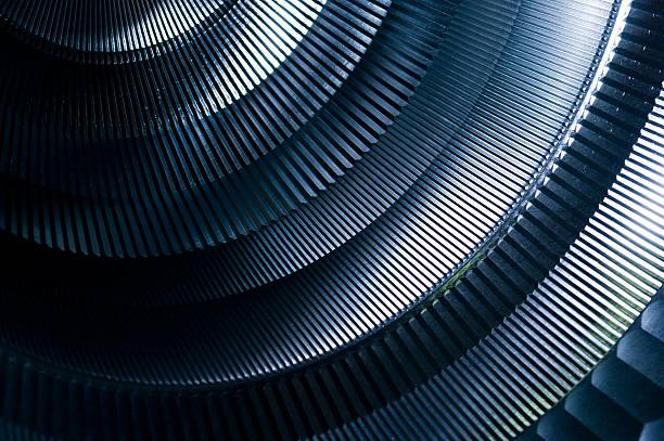 抽象的な飾りをメタルのラウンドマシナリー:スマホ壁紙(壁紙.com)