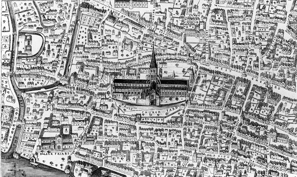 16世紀のスタイル「Map Of London」:写真・画像(7)[壁紙.com]