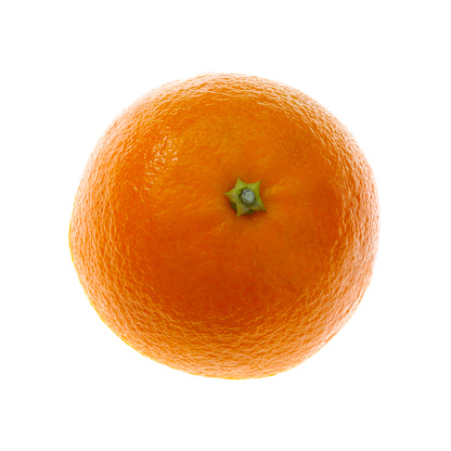 Sensory Perception「Simply half an organic orange on a square white background」:スマホ壁紙(10)
