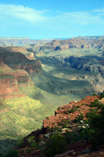 Kaibab National Forest「Sun Dappled Grand Canyon View from South Kaibab Trail」:スマホ壁紙(12)
