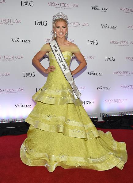 Yellow Dress「2016 Miss Teen USA Competition - Show」:写真・画像(10)[壁紙.com]