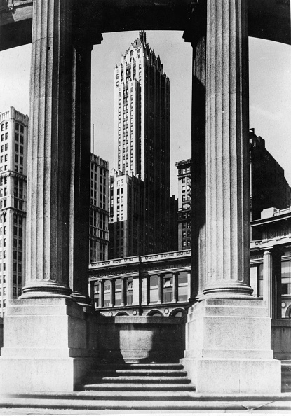 skyscraper「The Pittsfield Building. Chicago. Photograph. Around 1935.」:写真・画像(14)[壁紙.com]