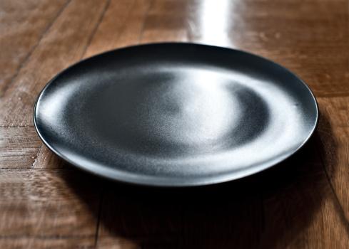 黒「Black plate」:スマホ壁紙(0)