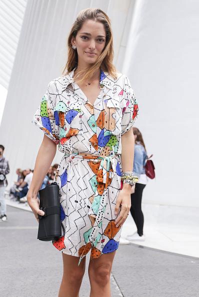 Achim Aaron Harding「Street Style - New York Fashion Week September 2018 - Day 4」:写真・画像(7)[壁紙.com]